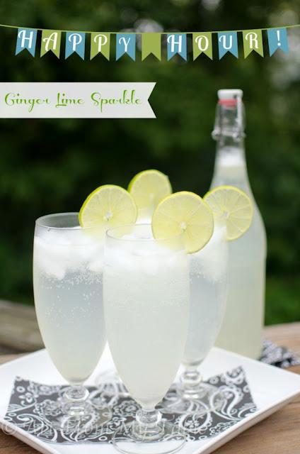 ginger lime sparkler recipe