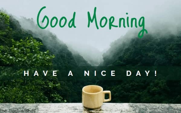 Nice Good Morning Nature Wish Image