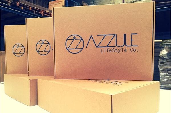caja para productos de lujo