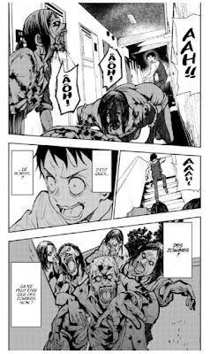 Akira se réveille et trouve une ville envahie par les zombies