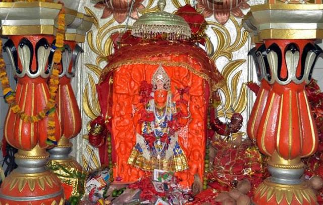 mandla ke mandir ,Nakkhi Mai Mandir Bakori Mandla, mandla ke darshaniy sthan