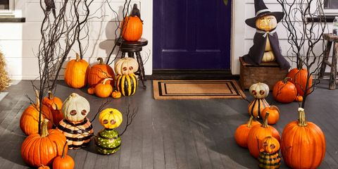 Halloween Decorations | Pumpkin Decorating Ideas | Halloween Images
