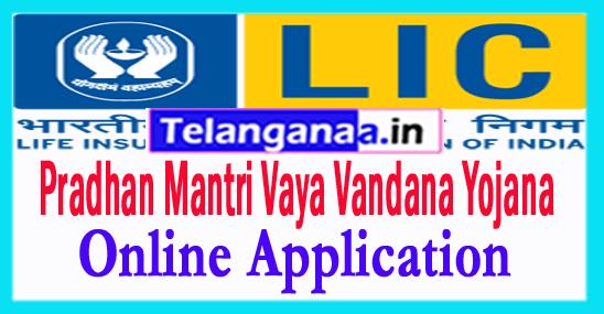 Pradhan Mantri Vaya Vandana Yojana Online Application Form thru licindia.In