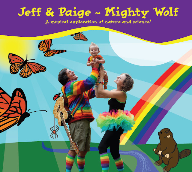 jeff and paige mighty wolf kids music science and nature