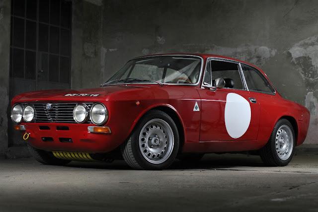 Lancia Fulvia 1960s Italian classic car