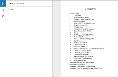 Screen shot of Kindle for PC - Bella in the Wych Elm - Volume 2 - Alex Merrill - Table of Contents