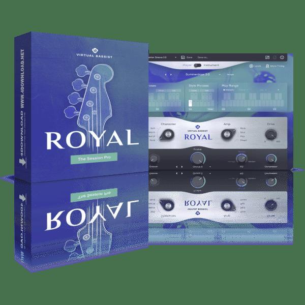 UJAM Virtual Bassist ROYAL v2.1.1 Full version