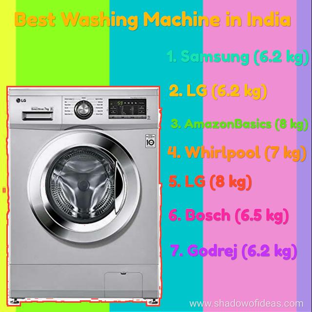 7 Best washing machine in India