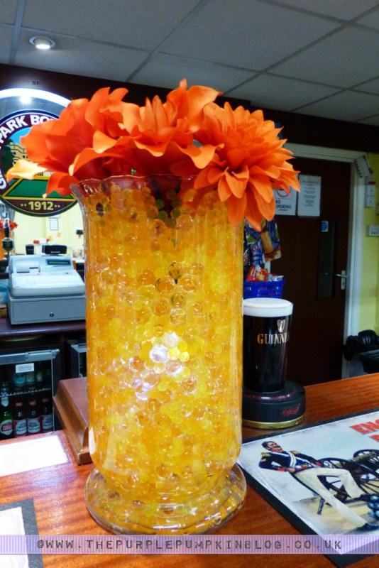 Orange & Yellow 40th Birthday Party - Decorations