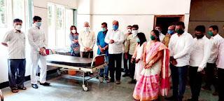 बोरीवली में गोपाल शेट्टी ने किया कोरोना जांच केंद्र का उद्घाटन   #CoronaUpdate