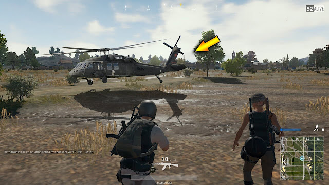pubg pc helicopter