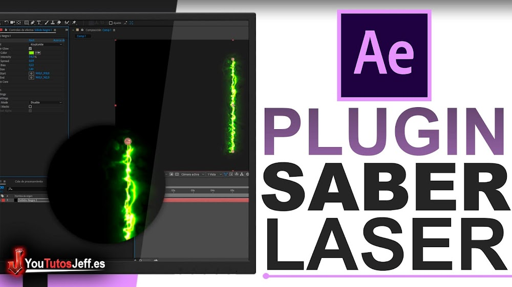 Como Descargar Plugin SABER After Effects Gratis