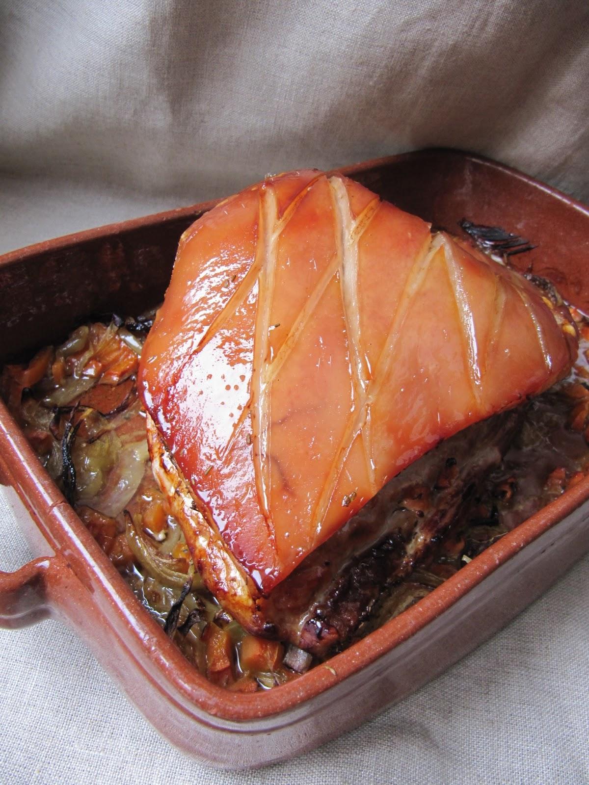 la cuisine dici et disca poitrine de porc au four