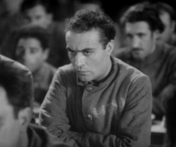 Charles Boyer as Morgan in Revolte dans la prison
