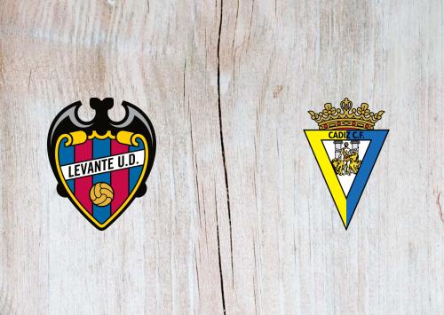 Levante vs Cádiz -Highlights 21 May 2021