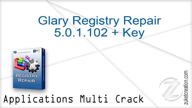 Glary Registry Repair 5.0.1.102 + Key   |  6 MB