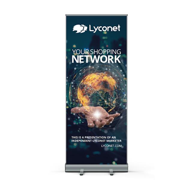 Lyconet Roll up - pomůcky pro Lyconet marketery