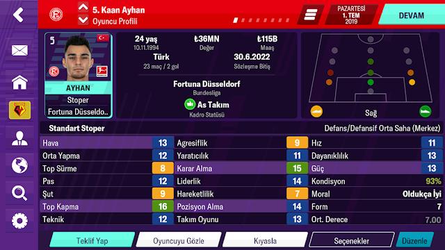 Football Manager 2020 Mobile Hileli APK
