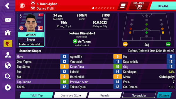 Football Manager 2020 Mobile Hileli APK v11.0.3