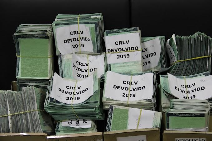 Ulitidade Publica:Correios já devolveram 8,6 mil CRLVs emitidos pelo Detran