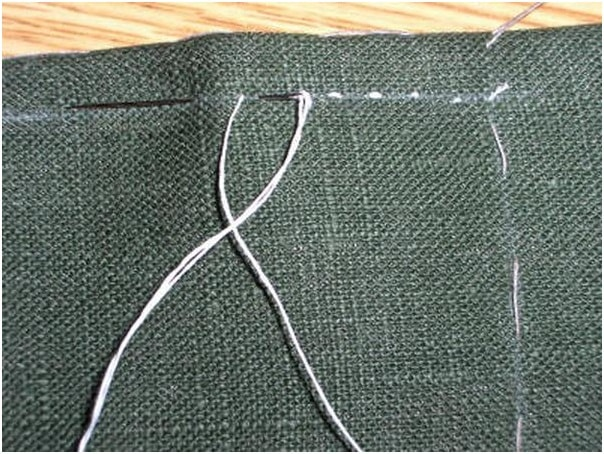 Chalked thread