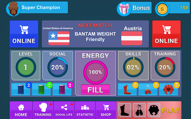 Champions Boxing Android Game