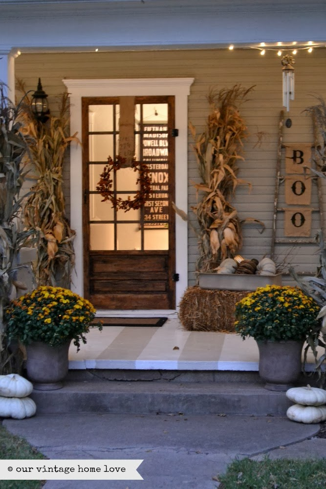 Our Vintage Home Love Fall Porch Ideas