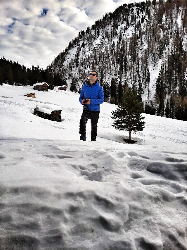 unterstalleralm oberstalleralm escursione inverno