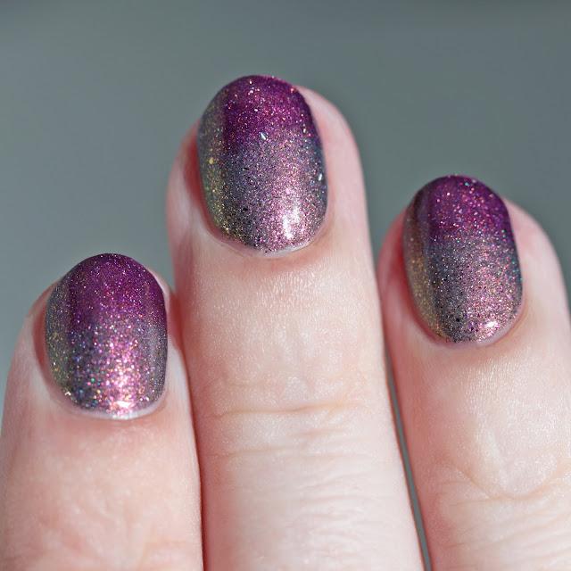 Paint It Pretty Polish Purple Rain unmagnetized