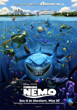 Finding Nemo 2003 BRRip 720p Dual Audio In Hindi English ESub