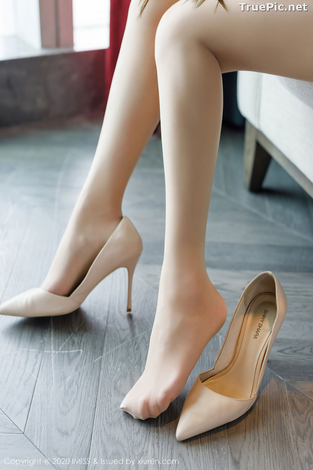 Image IMISS Vol.494 - Chinese Model - Lavinia肉肉 - Beautiful Long Legs Secretary - TruePic.net - Picture-3