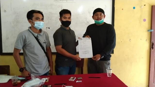 Saksi di TPS, Legislator PKB DPRD Kerinci Serahkan Surat Mandat ke KPPS Pondok Beringin