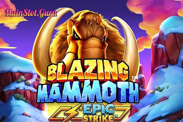 Main Gratis Slot Demo Blazing Mammoth Epic Strike Microgaming
