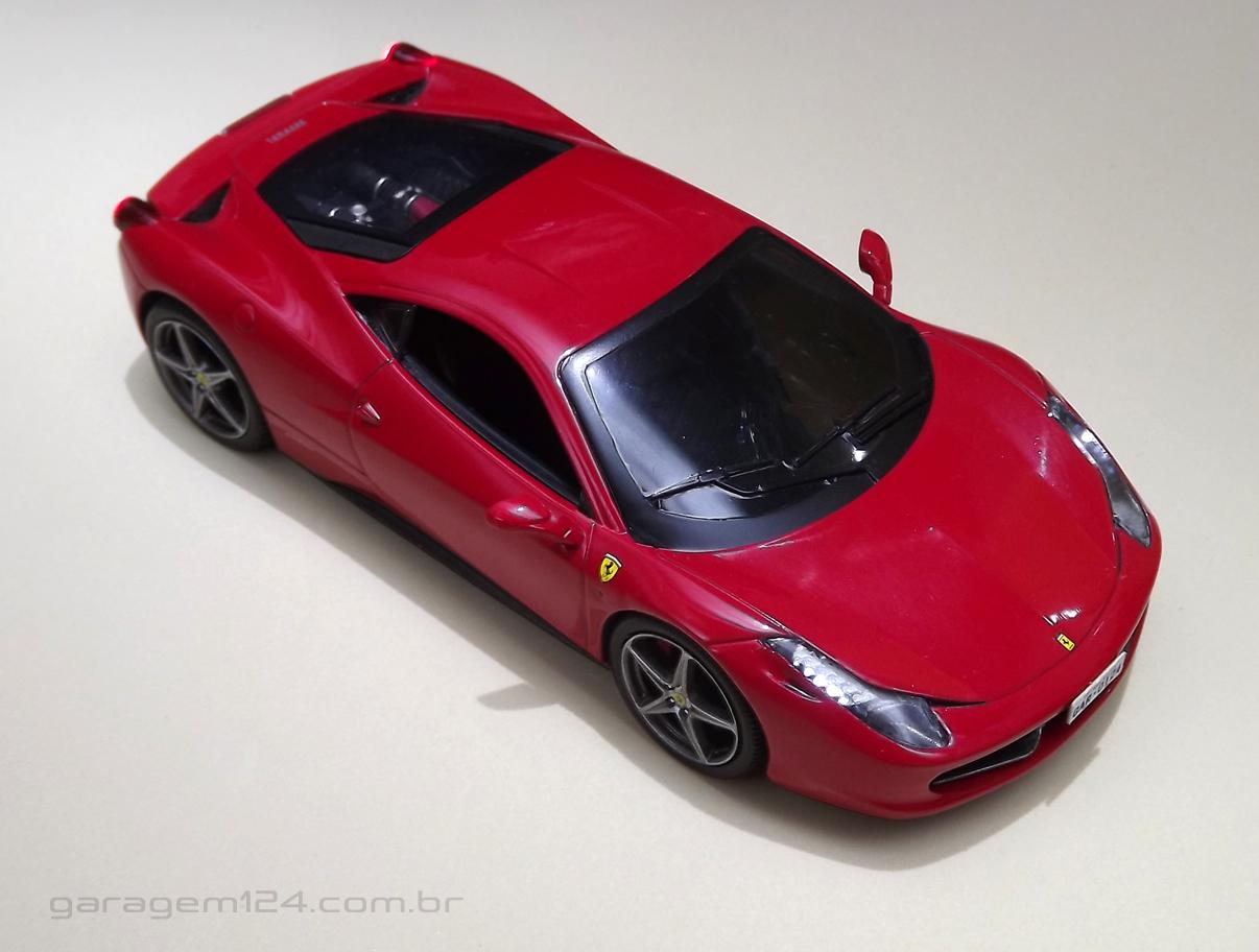 Ferrari 458 Itália Die-cast (Maisto x Hot Wheels)