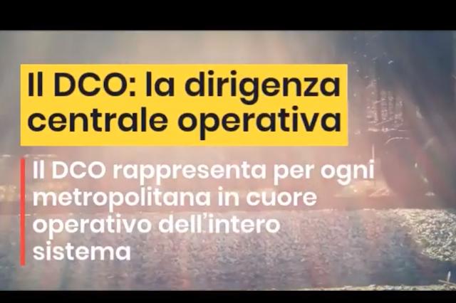 Il DCO: la dirigenza centrale operativa