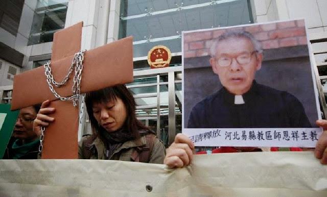 Apelo pelo Bispo Cosme Shi Enxiang, provavelmente morto num cárcere comunista chinês.