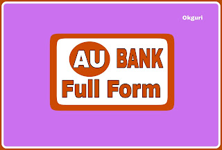 Full Form of au bank