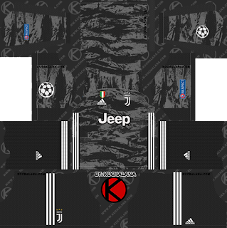 Juventus 2019/2020 Champions League Kit - Dream League Soccer Kits