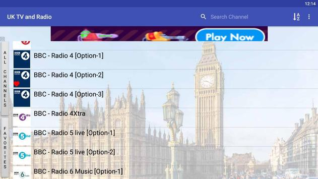 UK TV & Radio for Android - APK Download