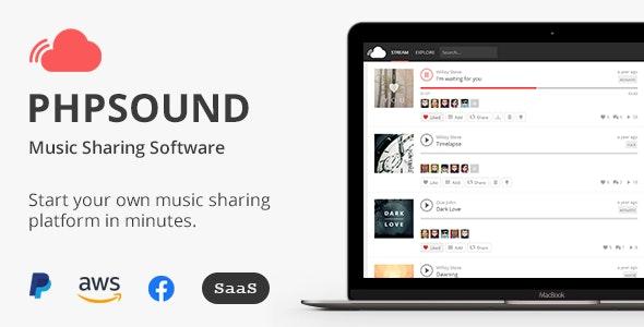 phpSound v6.2.0 - Music Sharing Platform Download