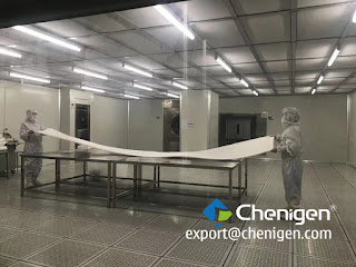 Chenigen 4.5 Meters Class 10 Polyester Wipes/Cleanroom Wipers -1