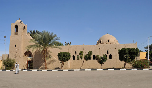 The mosque at Kurna, Luxor by Hassan Fathy