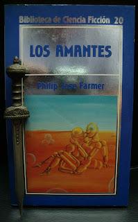 Portada del libro Los amantes, de Philip José Farmer