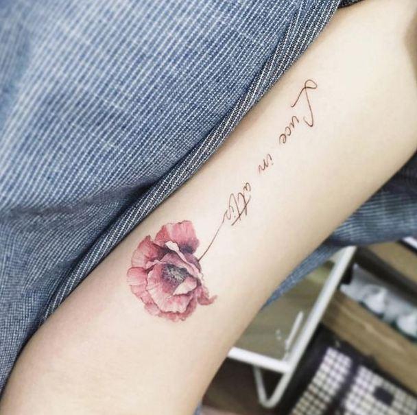 Flower Tattoos