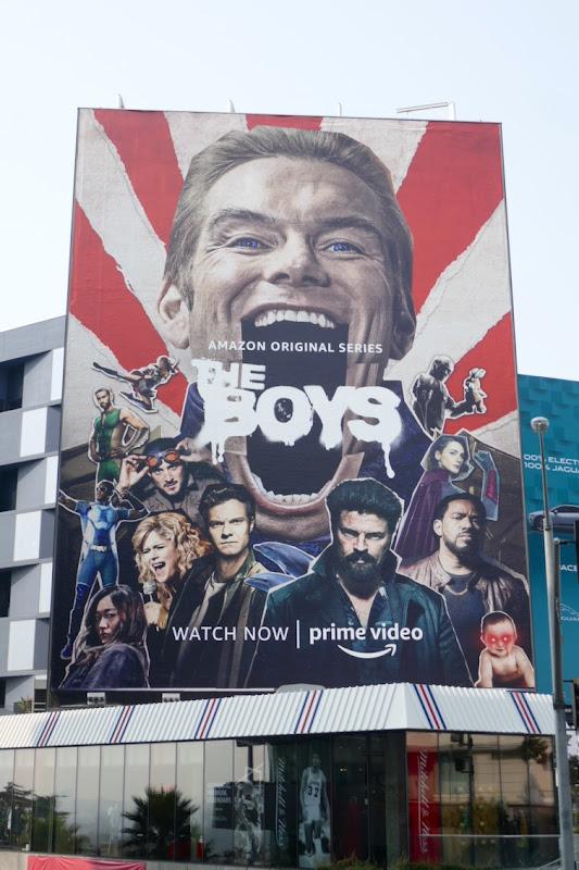 Giant Boys season 2 billboard