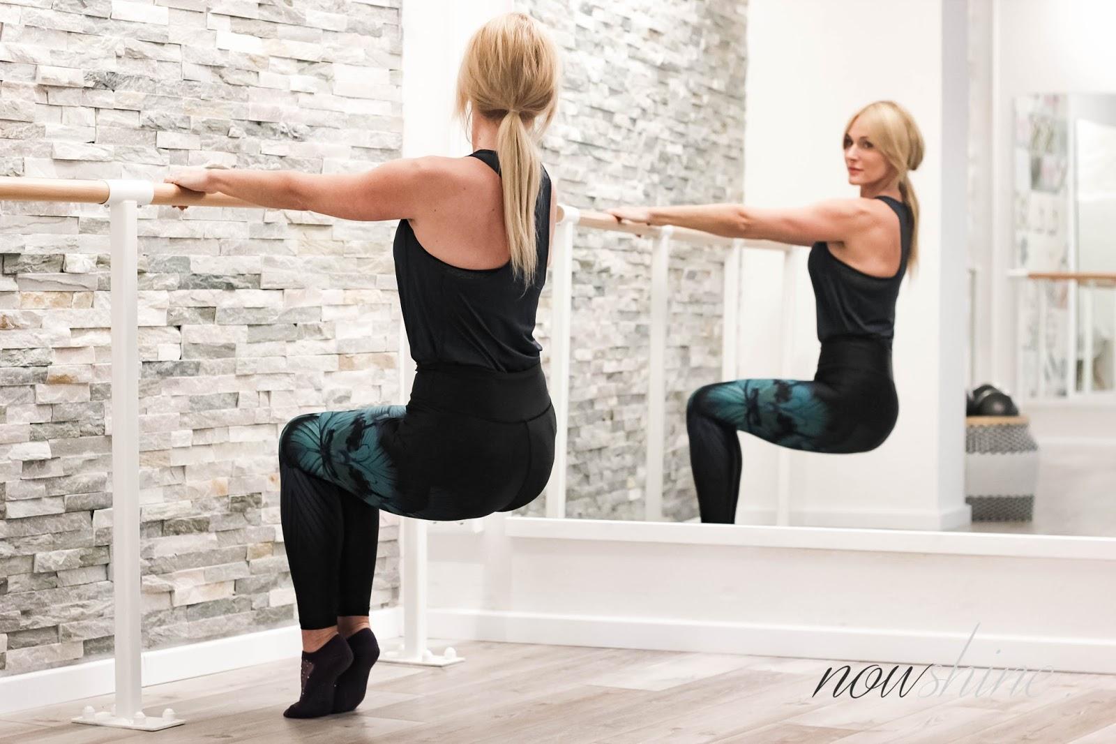Ballett Barre Workout bei Youpila Düsseldorf - Fitnessblog über 40