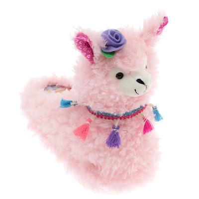 Pink Llama Slippers
