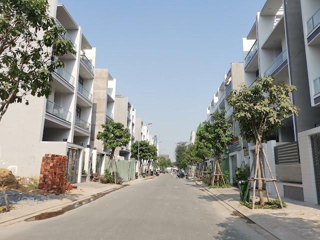 Nhà phố khu đô thị Vạn Phúc 5x20m