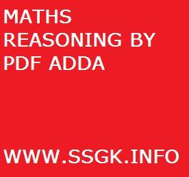 MATHS REASONING BY PDF ADDA