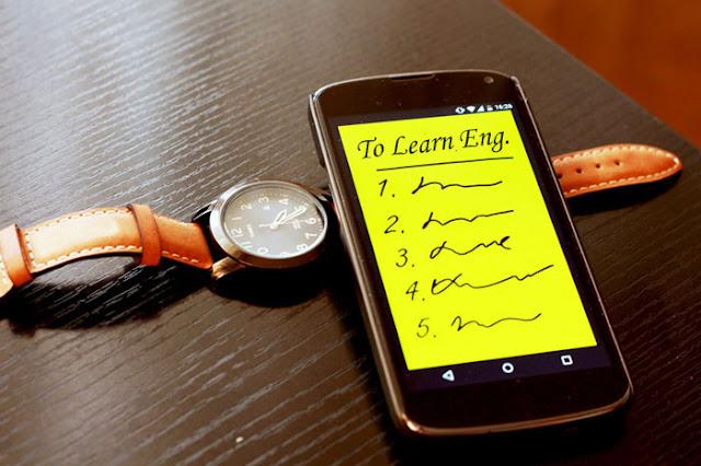 تعليم اللغات على أجهزة أندرويد مع تطبيق 10,000 sentences